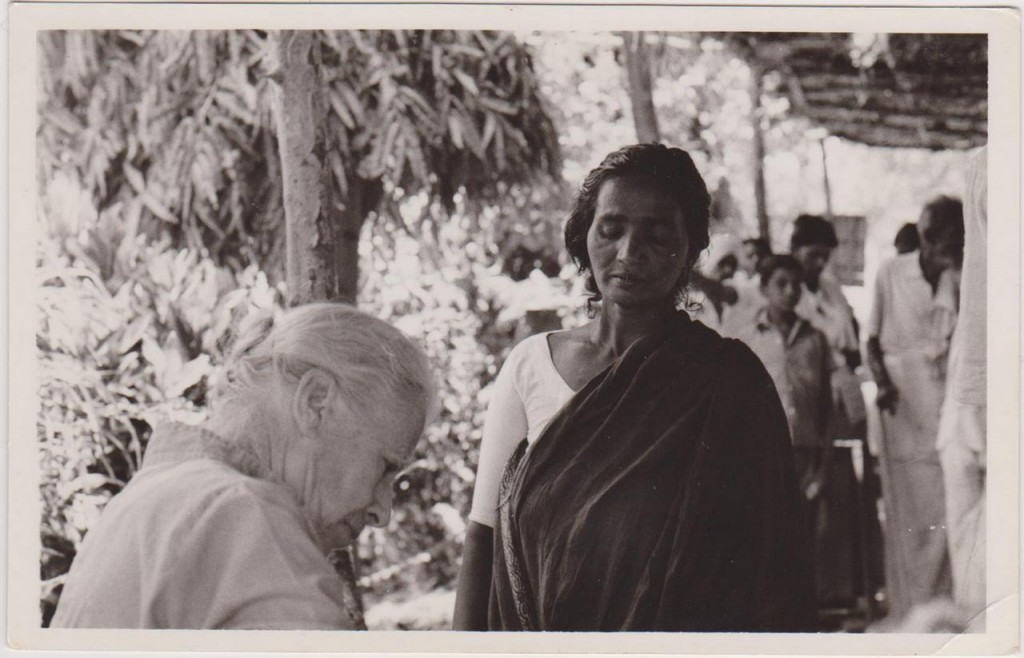 Dora Scarlett at the Seva Nilayam clinic